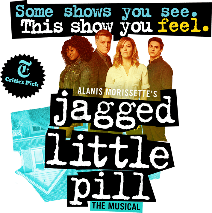 JAGGED LITTLE PILL new logo/ad campaign